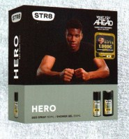 STR 8 Hero Deo Spray 150ml + Shower Gel 250 ml