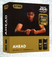 STR 8 Ahead Deo Spray 150ml + Shower Gel 250 ml