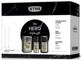 STR 8 Hero ASL 50ml Deo Spray 150ml + Shower Gel 250 ml